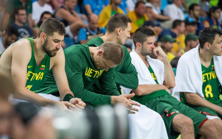 Black Wednesday: Lithuanian basketball team out of the race for Olympic medals