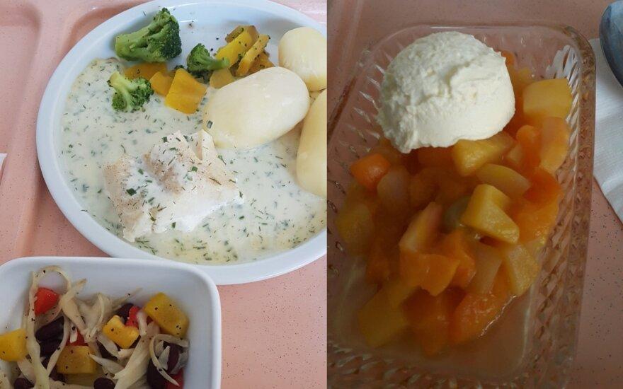 Ligoninės maistas užsienyje nustebino tik dėl vieno ingrediento
