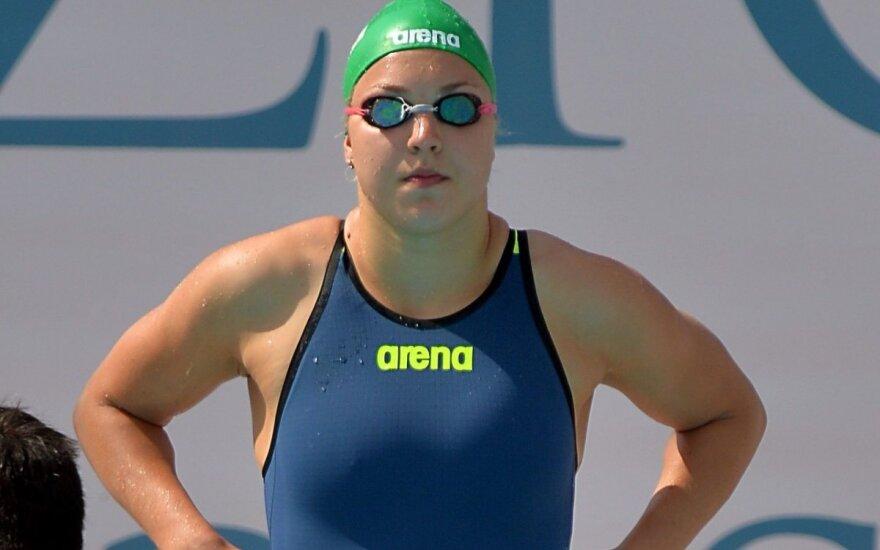 Du aukso medaliai: R. Meilutytė – vėl geriausia, o G. Titenis įveikė olimpinį čempioną
