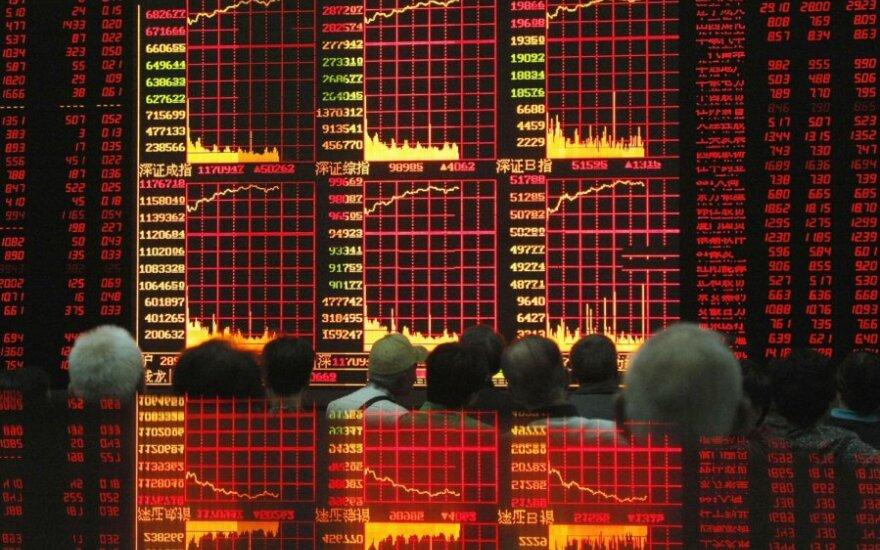 Trečiadienį Vilniaus akcijų biržos indeksas krito