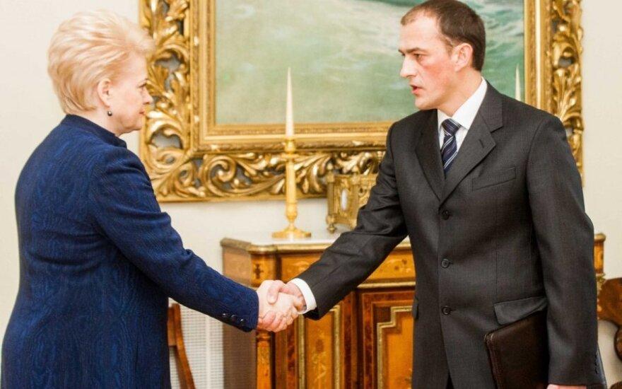 Dalia Grybauskaitė ir Žydrūnas Bartkus