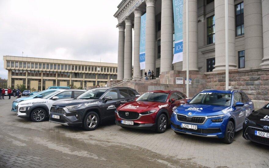 """""""Lietuvos metų automobilio 2020"""" rinkimai"""