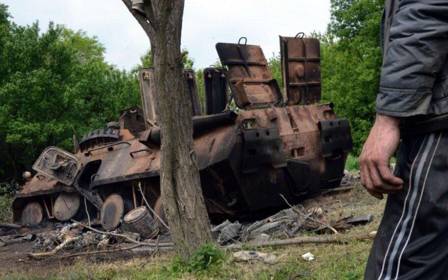 Ukrainiečių kariai papasakojo apie žudynes prie Kramatorsko