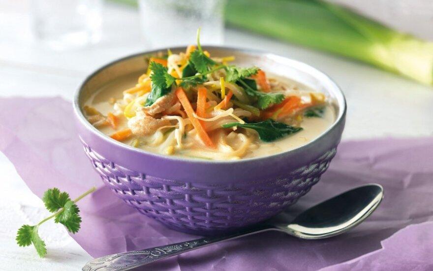 OM KHA sriuba su daržovėmis
