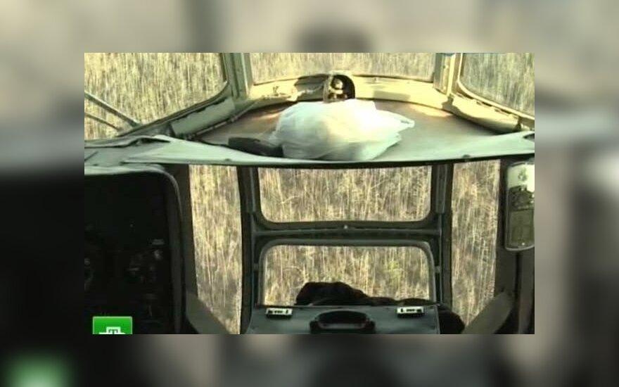 Jakutijoje nukrito sraigtasparnis