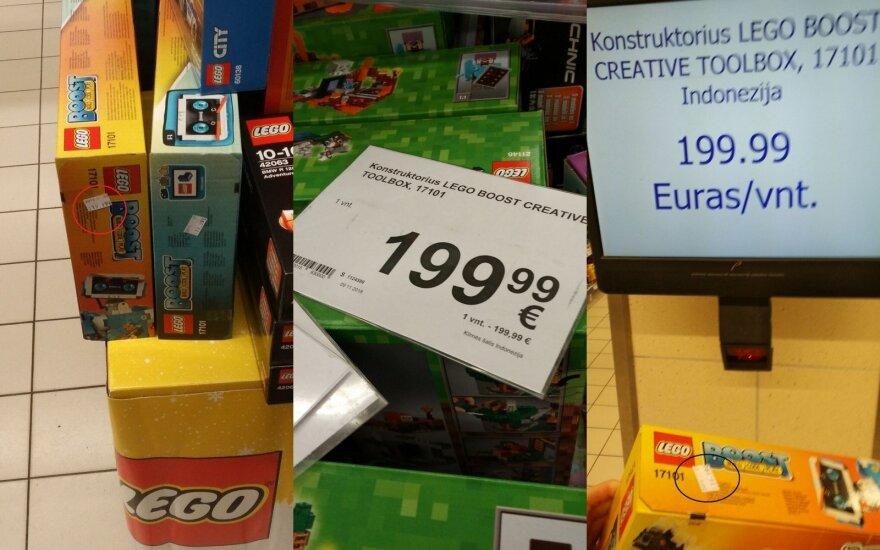 """Pirkėjas pastebėjo išaugusią žaislo kainą: ar tai """"Maximos"""" triukas apgauti per akcijas?"""