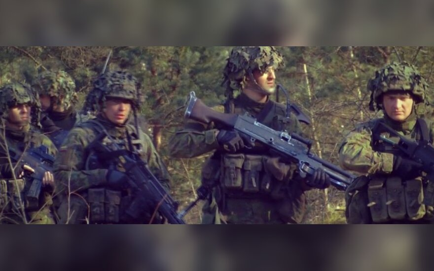 Šių dienų pėstininko portretas: nuo ekipuotės iki ginkluotės
