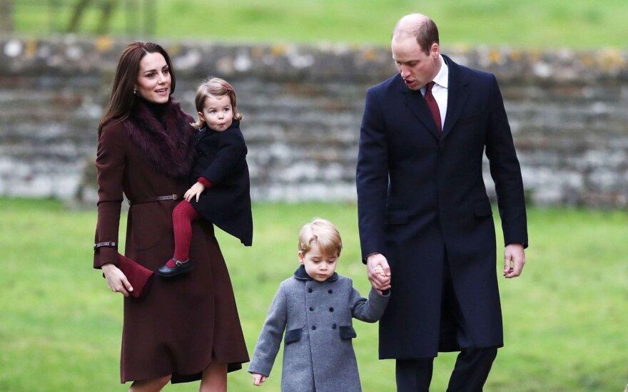 Kaip princas Williamas ir Kate pavadins netrukus gimsiantį kūdikį: paskelbtos britų prognozės