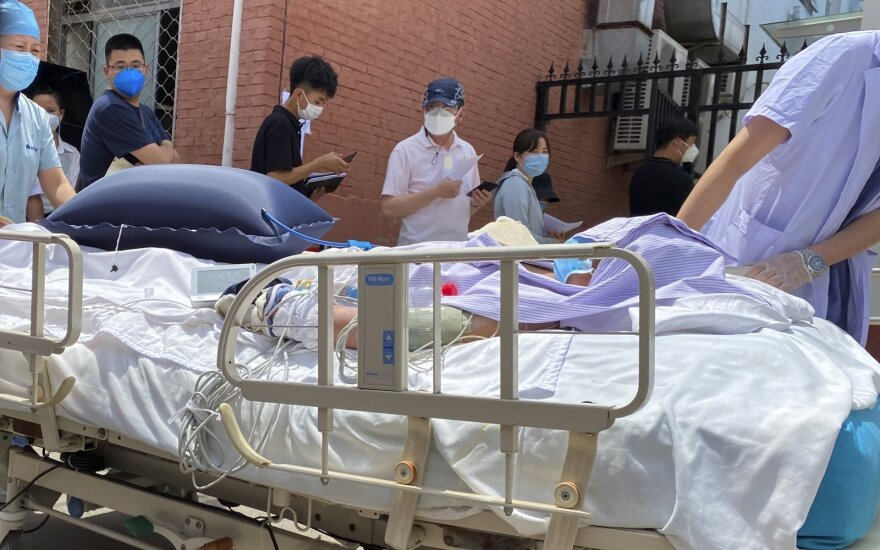 Kinijos sostinėje užfiksuoti 22 nauji kornaviruso atvejai
