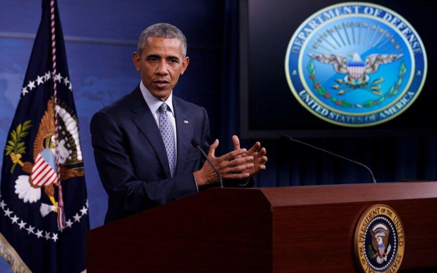 """Strateginiai žaidimai: kaip kare su """"Islamo valstybe"""" B. Obama buvo pergudrautas"""