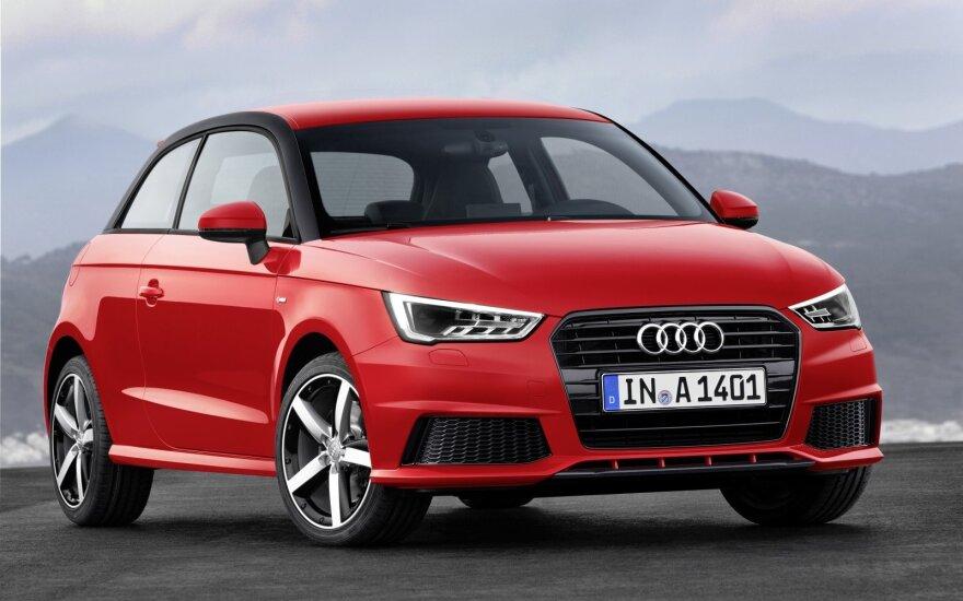 """Ar BMW mes iššūkį """"Audi A1"""", sužinosime netrukus"""