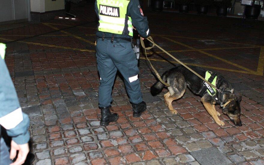 """Tarnybinio policijos šuns radiniai """"Karklėje"""" ir toliau stebina: narkotikus slėpė ir palapinėse, ir automobiliuose"""