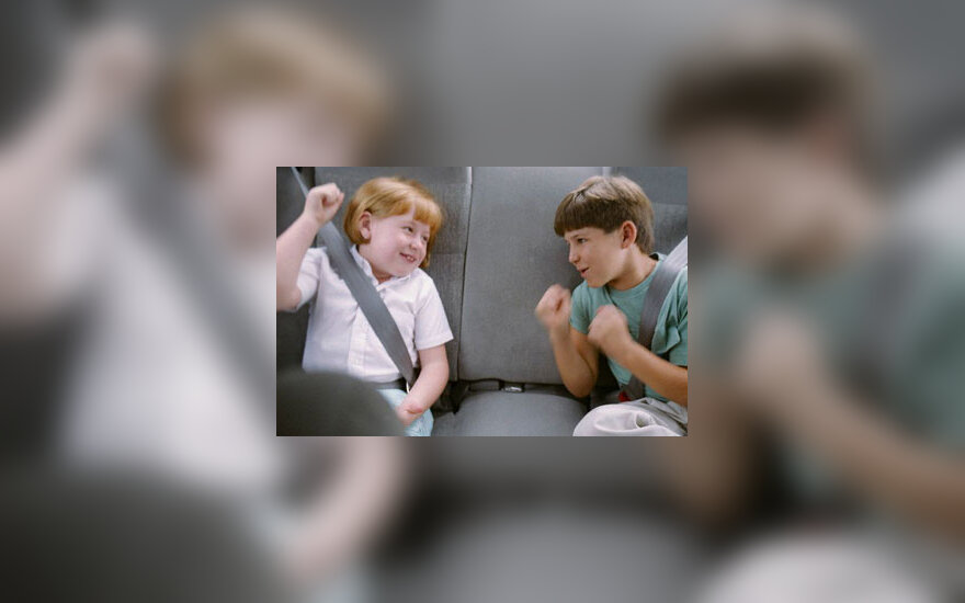 Vaikai pešasi, muštynės, agresija