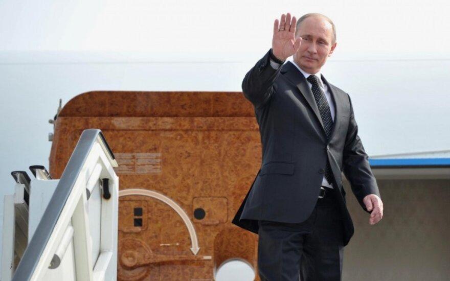 Europoje V.Putinas buvo papeiktas ir pasiųstas