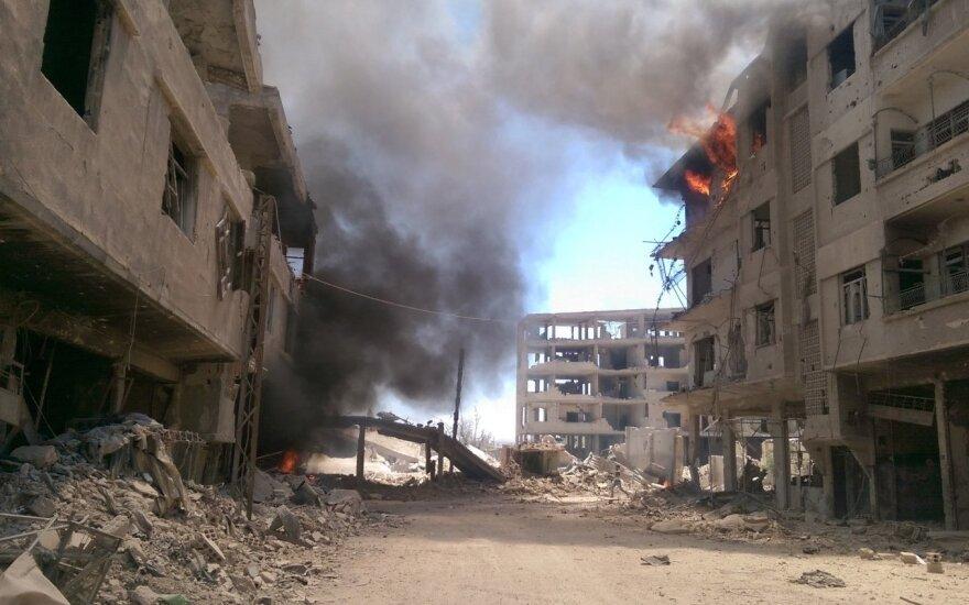 Daugėja įrodymų, kad Rusija naudoja kasetinius sprogmenis Sirijoje