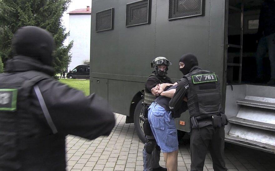 Baltarusijoje sulaikyti rusų samdiniai: vykome į Turkiją degintis