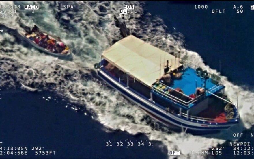 Italijos žvejų laivas netoli Libijos vandenų