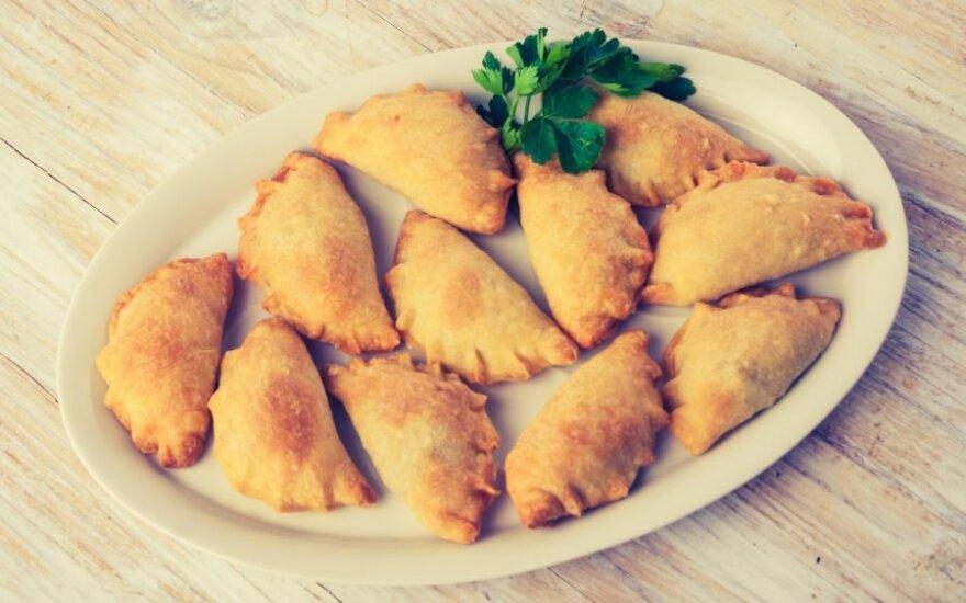 Mamos receptas: pyragėliai su grybais