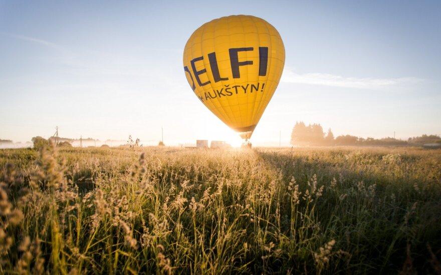 DELFI oro balionas