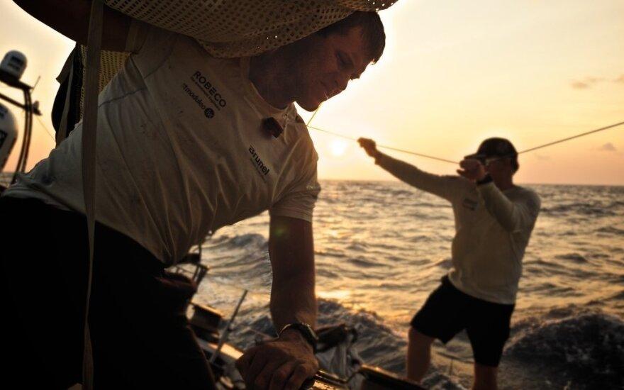 """Volvo Ocean Race"" buriavimo regata"