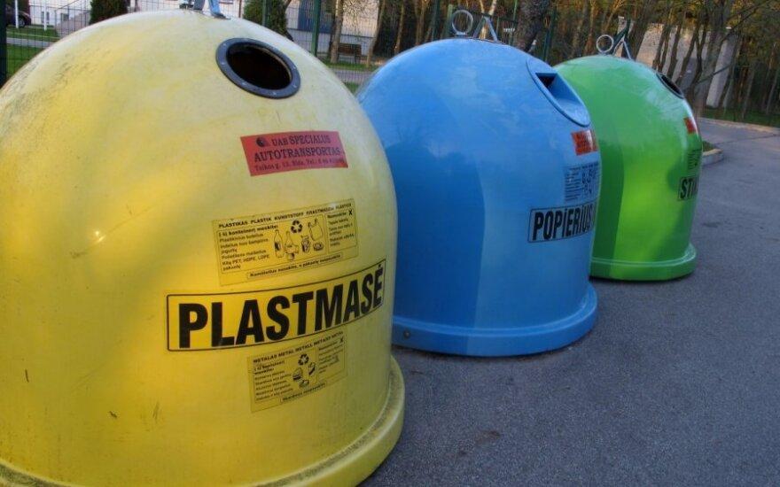 Atliekų vežėjai sako, kad žmonės atsakingiu žiūri į atliekų rūšiavimą