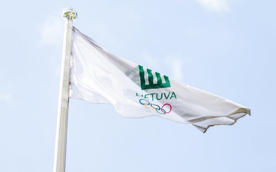 LTOK vėliava (V. Dranginio nuotr.)