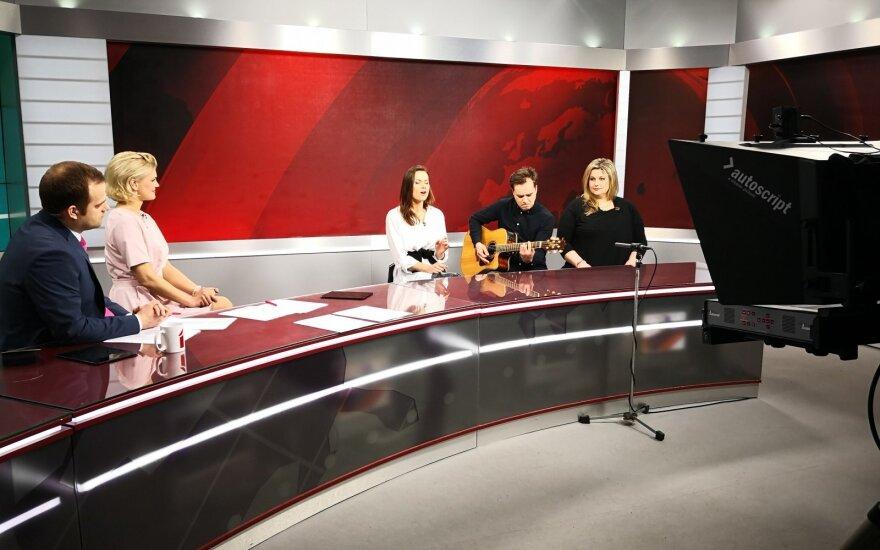 Jurga pristato naują dainą, kurtą ir įrašytą Latvijoje
