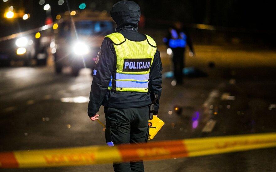 Kraupi avarija Vilniuje: žuvo perėja ėjęs vyras