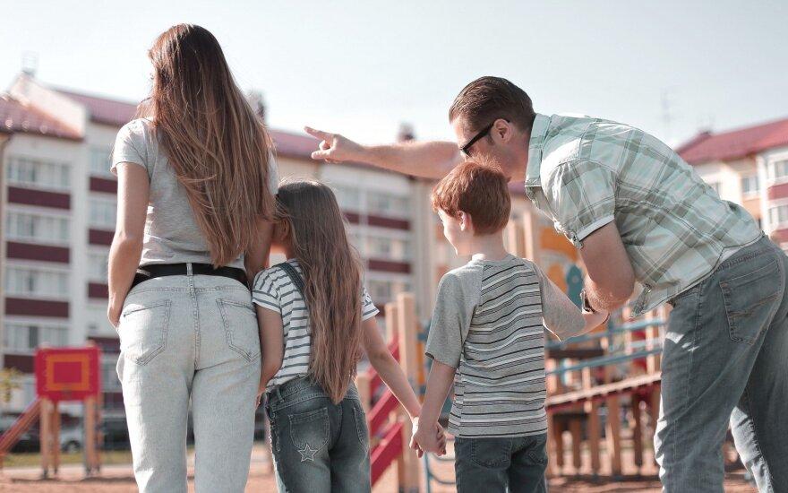 Šeima mieste