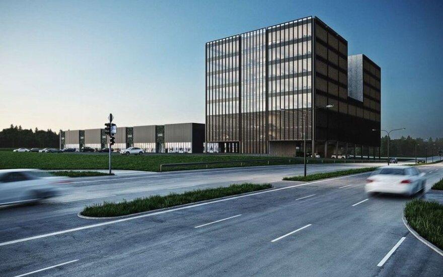 Greta Ukmergės ir Vakarinio aplinkkelio iškils verslo ir prekybos kompleksas