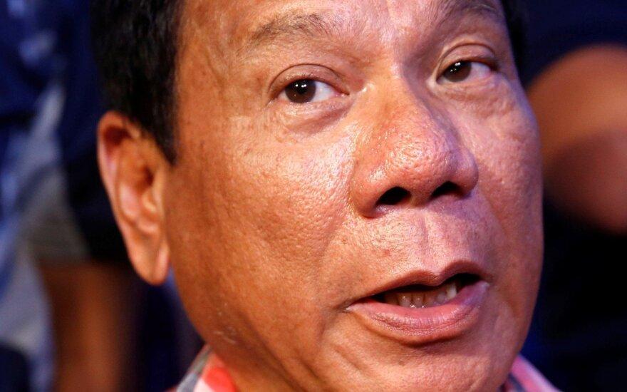 Filipinų prezidento gimtinėje įvyko sprogimas