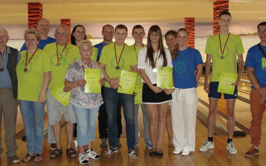 Pasaulio lietuvių sporto žaidynių boulingo varžybų prizininkai