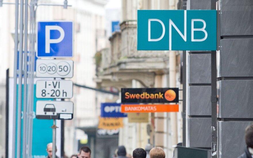 Bankų pelnas mažėjo 42 proc., iki 298 mln. Lt