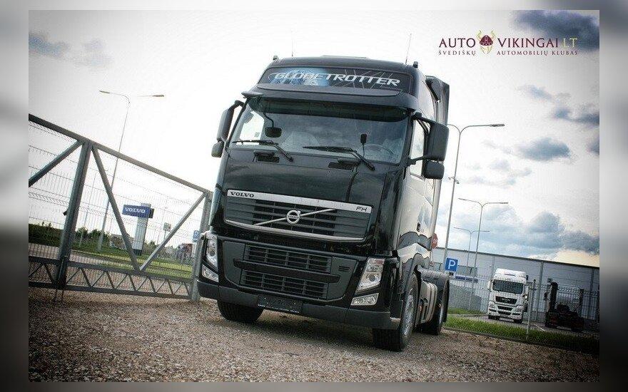 Autovikingai išbandė Volvo FH