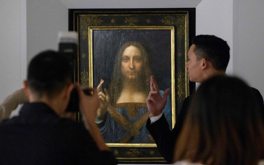"""Už rekordinę sumą parduotas Da Vinci """"Salvator Mundi"""" bus eksponuojamas Abu Dabio Luvre"""