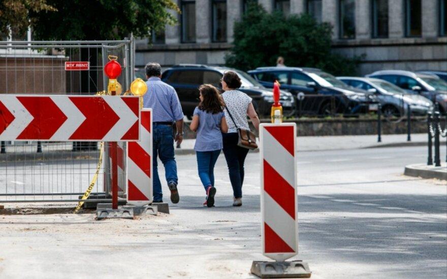 Kauno savivaldybė ieško rangovo Daukanto gatvės rekonstrukcijai