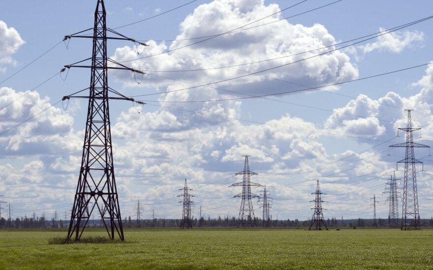 Numatyta elektros linijos Darbėnai-Bitėnai trasa