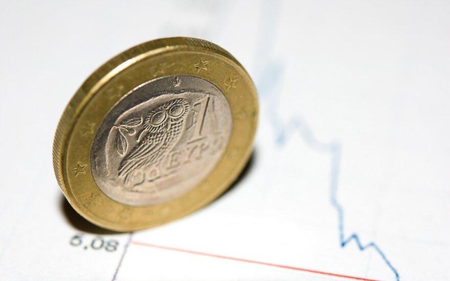 Euras pirmadienį pasiekė trijų metų maksimumą