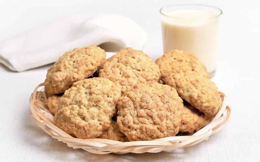 """Avižiniai sausainiai """"Pina colada"""""""