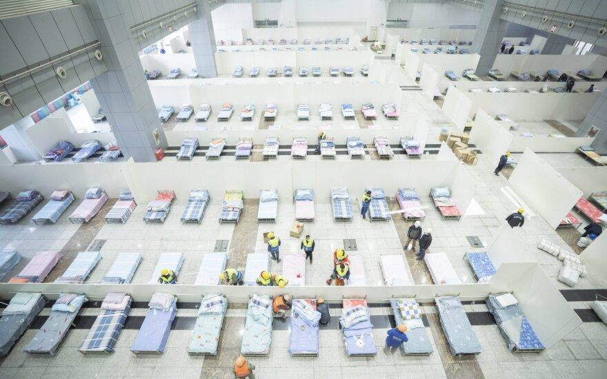Vokietijoje karantino zoną leista palikti daugiau nei 100 žmonių, grįžusių iš Kinijos