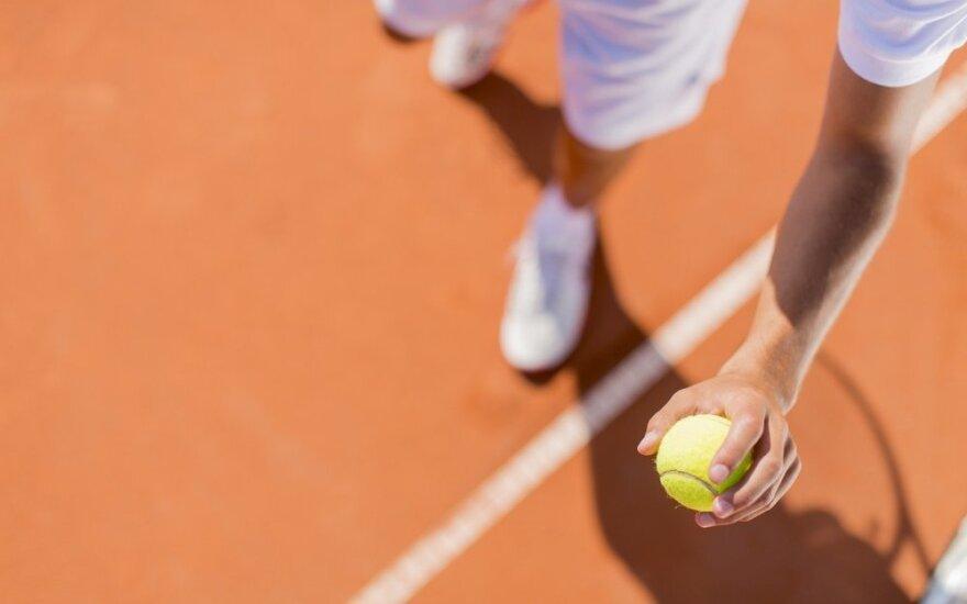 Lietuvos tenisininkas stipriausių Europos 16-mečių turnyre liko ketvirtas