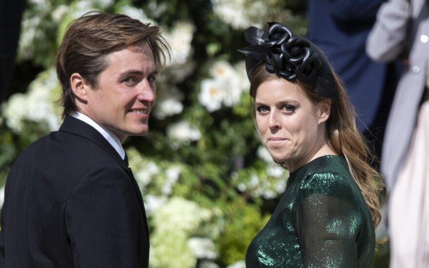 Princesė Beatrice ir Edoardo Mapelli Mozzi