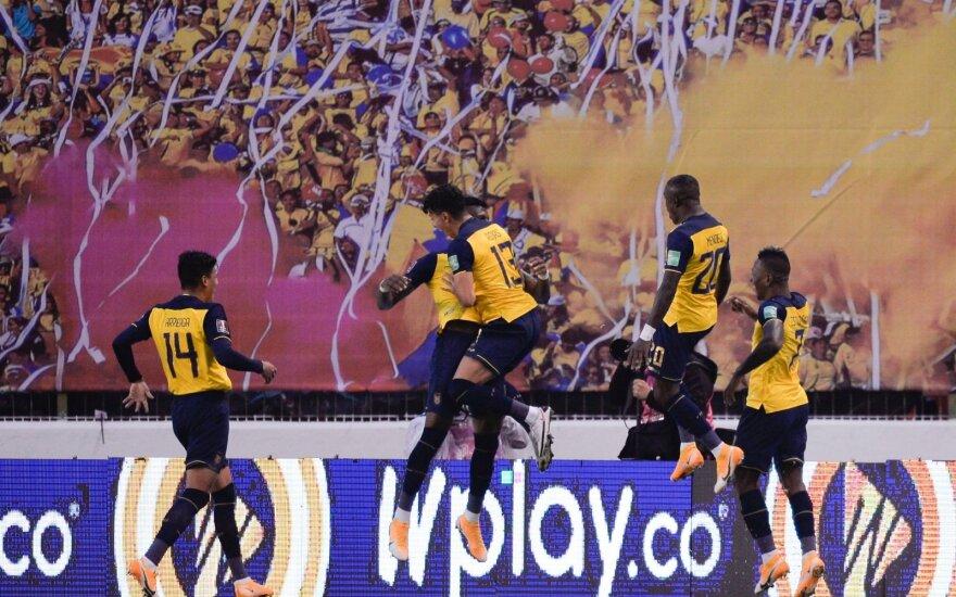 Kolumbijos vartai subombarduoti taip pat kaip Vokietijos, Messi tyli