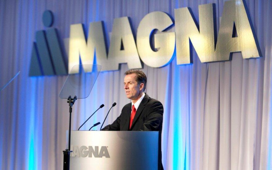 """Magna"" direktorius Donaldas Walkeris"
