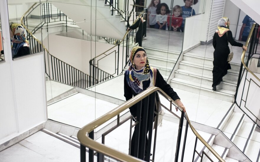 "Isabelle Huppert filme ""Dylerė"" /Foto: Lydie Nesvadba"