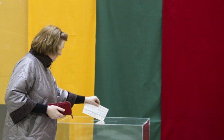 Marijampolės mero rinkimuose dalyvavo beveik 25 proc. rinkėjų