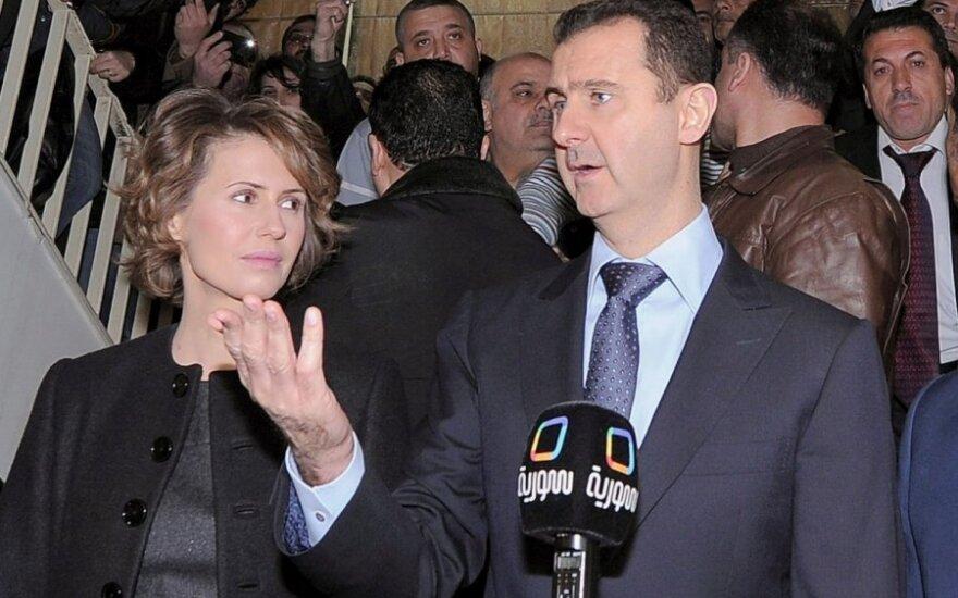 Basharas al Assadas ir Asma Assad