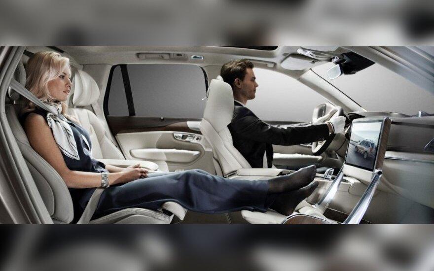 Volvo Lounge Console koncepcija