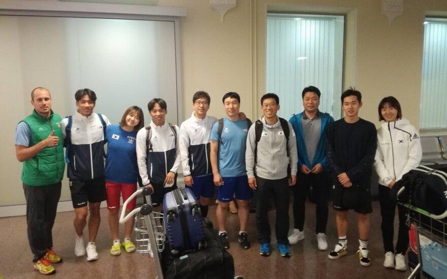 Pietų Korėjos penkiakovininkai