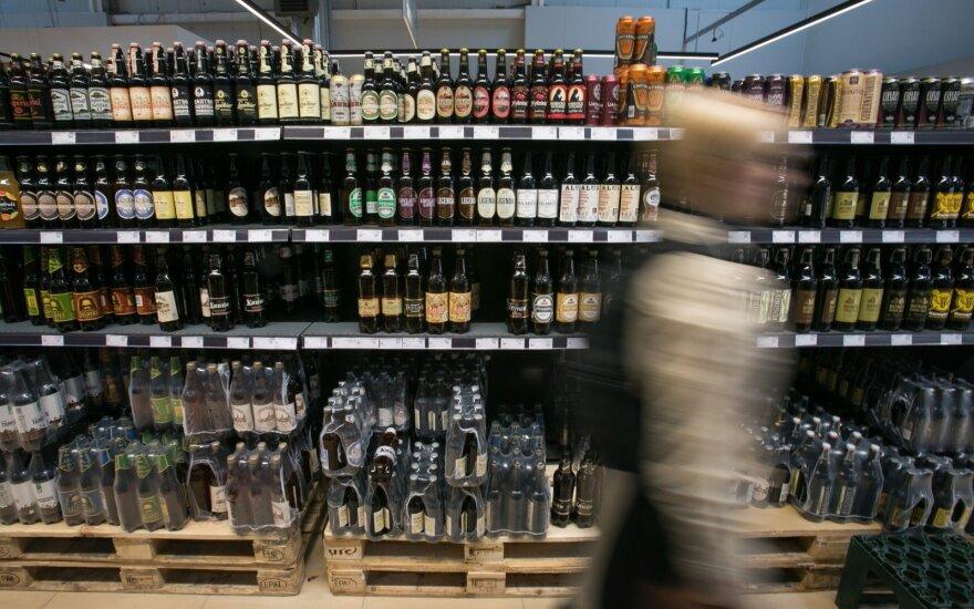Alkoholio draudimų efektas: pardavimai krenta